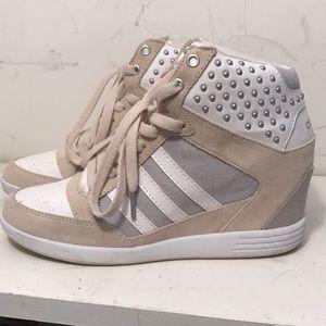 Adidas sneaker wedges
